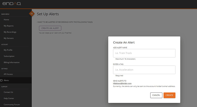 enDAQ-Cloud-Create-Alert